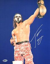Tama Tonga Signed 11x14 Photo BAS COA New Japan Pro Wrestling Bullet Club NJPW 5