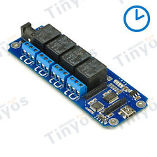 TOSR04 Channel USB/Wireless Timer Relay(Xbee/Bluetooth/WIFI)+cell phone control