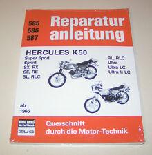Reparaturanleitung Hercules K 50 - ab Baujahr 1966 !