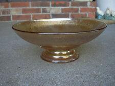 Depression Glass Marigold Footed Stem Bowl
