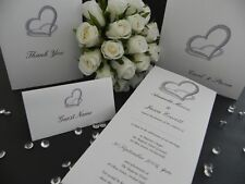 Heart of Diamonds Event, Wedding or engagement Invitations - Samples ONLY $1