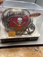 Tom Brady Autograph Signed Buccaneers Speed Mini Helmet  With COA