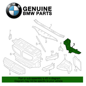 Genuine Driver Left Supports For BMW F06 F12 F13 640i 650 xDrive M6 Gran Coupe