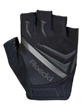 Roeckl Ivica Fahrrad Handschuhe kurz grau//schwarz//grün 2020
