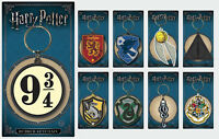 Harry Potter Keychain Keyring Hermione Gryffindor Hufflepuff 9 3/4 Gift Official