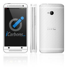 HTC ONE - White Carbon Fibre skin by iCarbons