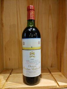 CHATEAU MOUTON ROTHSCHILD 1983 Pauillac 0,75l seit Jahren Weinkellergelagert !!!