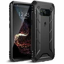 BLK For Galaxy S8 Plus Poetic Revolution Rugged Case Heavy Duty Protection Case