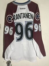 Reebok Authentic NHL Jersey Colorado Avalanche Mikko Rantanen White sz 50