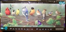 Buffalo Games Panoramic Puzzle SONGBIRDS 750 pieces James Hautman- Complete