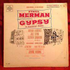 Ethel Merman in GYPSY LP Album Vinyl 1959 Masterworks Columbia Record OL 5420