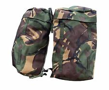 NEW - DPM Woodland Camo PLCE Rucksack Side Pouches / Pockets - Set of Two