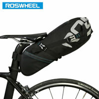 ROSWHEEL 8L/10L Waterproof  Bike Bicycle Saddle Bag Pannier MTB Seat Tail Rear