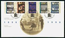 Mayfairstamps Canada Fdc 1996 Cinema Combo Montreal First Day Cover wwh_72045