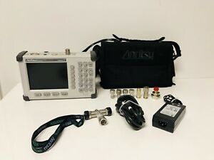 Anritsu S331D Site Master Cable & Antenna Analyzer w/Soft Case & Accessories