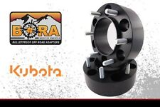 "Kubota B Series Wheel Spacer Kit: 2 @ 2.50"" Front by BORA - USA Made"
