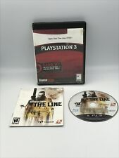 Spec Ops: The Line (Sony PlayStation 3, PS3) with manual