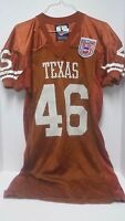 Texas Longhorns w/College Football 125th Anniv Patch.Game Worn Jersey #46 Herter