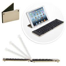 Faltbahre Bluetooth keyboard Tastatur Samsung Galaxy Tab A 10.1 -  F66 Gold
