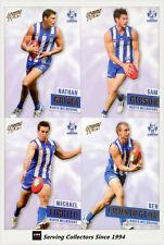 2013 Select AFL Prime Card Series Base Card Team Set North Melbourne (12)
