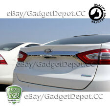 For 2013 2014 2015 2016 FORD FUSION Chrome Rear Trunk Streamer Logo Cover