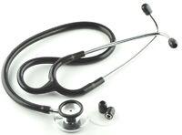 Professional Dual Head Stethoscope  for Doctors Student Vet Nurse Medical Black