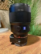Sony 135mm f/1.8 Carl Zeiss Prime Lens and Sony E-Mount Adapter