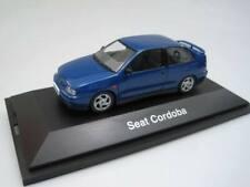 Seat Cordoba SX 6K 185387 Azul VW Derby Polo 6N 1996 - Herpa 1/43 cochesaescala