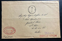 1968 British Land Forces Post office In Hong Kong OHMS Cover To Kowloon