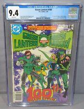 GREEN LANTERN #100 (Air Wave II 1st appearance) CGC 9.4 NM DC Comics 1978