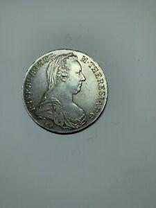 1780 Austria Maria Theresa Silver Thaler