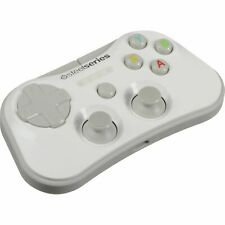 BRAND NEW SteelSeries Stratus White Wireless Gaming Controller iOS 4 Pieces