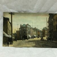 Vintage Postcard John Street Scene Quebec Canada Unused Montreal