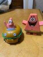 Spongebob Squarepants Burger King Toy Patrick Patty Wagon 2004 & More K20q