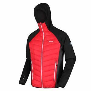 Regatta Men's Andreson V Water-Repellent Walking Jacket - Chinese Red/Ash
