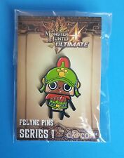 Monster Hunter Ultimate PROMO Pin Button Series 1 Felyne Pins NEW Capcom