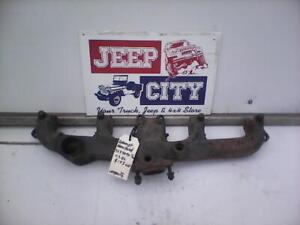 Jeep AMC CJ 5,6,7 YJ 258 Exhaust Manifold 4.2L 6 cyl #3237096