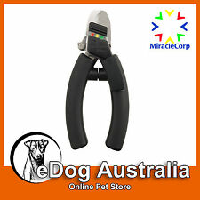 Miracle Coat QuickFinder Deluxe Safety Nail Clipper | LARGE | Dog Grooming