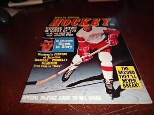 Sports Special Hockey Magazine February 1969 Gordie Howe ed giacomin nhl detroit