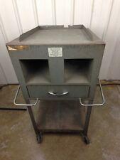 Vintage 1960s Oscilloscope Testing Cart Tektronix Dolly Gad Jets Gi 3008