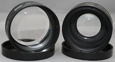 ZYKKOR TELEPHOTO & WIDE ANGLE Lens Attachment for CANON SUPER SURE SHOT JAPAN