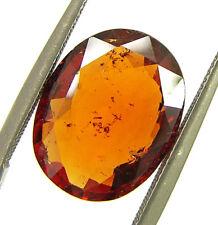 4.85 Ct Certified Natural Ceylon Hessonite Gomed Loose Untreated Gemstone- 44371