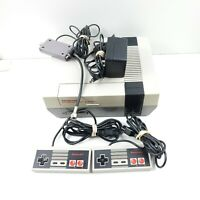Nintendo Entertainment System NES-001 Video Game Console Complete