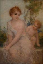 Peintures et émaux du XIXe siècle et avant huiles