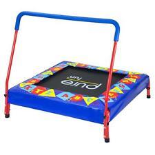 Preschool 36-in x 36-in Jumper Kids Mini Trampoline with Cushioned Handle