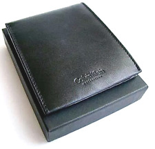 CALVIN KLEIN MEN LEATHER WALLET BIFOLD - BRAND NEW IN BOX