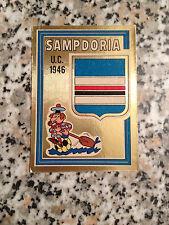 SCUDETTO SAMPDORIA N. 29 CALCIATORI PANINI 1973-74 OTTIMO CON VELINA DA BUSTINA