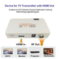 USA HDMI To RF Coaxial Converter Box With Remote Control Nsendato Converter USPS