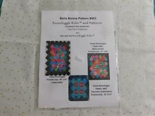 quilt ruler Boondoggle ruler with patterns