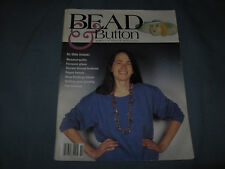 BEAD & BUTTON #5 OCT 1994 BEADED QUILTS, HAT BUTTONS, PAPER BEADS, FURNACE GLASS